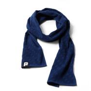 Punchi Towelling Scarf (Deep Blue)
