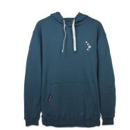 Cocoon Winter Hoodie (Navy Blue)