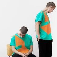 Perlon Shirt (Letter L - Green)