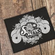 Shipwrec Woven Patch (White)