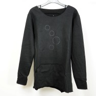 Cocoon Circles Sweater (Black)