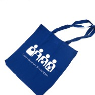 Clone TOTE Bag (White on Blue)