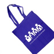 Clone TOTE Bag (White on Purple)