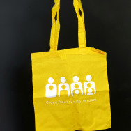 Clone TOTE Bag (White on Yellow)