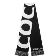 Cocoon Scarf (Black / White)