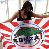 Bonzai Flag - Rising Sun