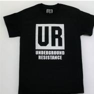 Underground Resistance UR Logo (Black)
