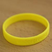 Silikonband Underground (Yellow)