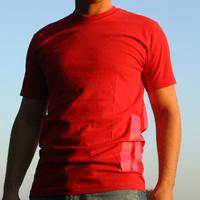 DEFRAG Stripes T-Shirt (red)