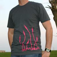 Delon & Dalcan Shirt (Asphalt / Pink Logo)