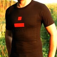 Dialect Man Shirt (black / red Logo)