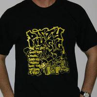 Dirty Muzik Shirt (Black)