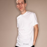 Drumpoet Headphone Shirt (White)