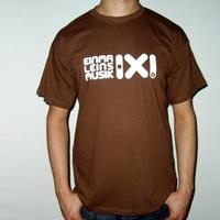Einmal Eins Rec Logo Shirt (Brown)