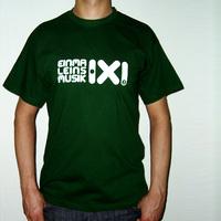 Einmal Eins Rec Logo Shirt (Dark Green)