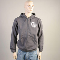 FAT Hooded Ziper Sweater (Dark Gray)