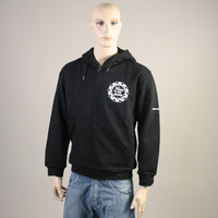 FAT Hooded Ziper Sweater (Black)