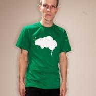 Dripping Cloud Shirt (Green)
