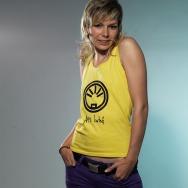Afu Limited Girl Muscle Shirt (Yellow)
