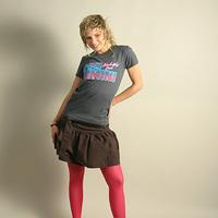 Girl Shirt Don Rimini Neon (Asphalt)