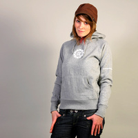 FAT Hooded Girl Sweater (Grey)