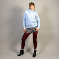 FAT Hooded Girl Sweater (Sky Blue)