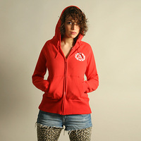 FAT Hooded Girl Jacket (Red)