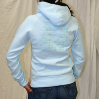 Kompakt Total Girl Hooded Sweater (Light Turquoise)