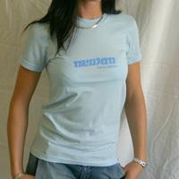Girl Neuton Logo shirt (Sky Blue)