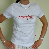 NL - Temper (white Girl Shirt)
