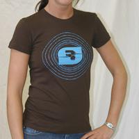 Girl SSens Records Logoshirt (Brown)