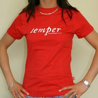 NL - Temper (red Woman Shirt)