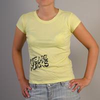 Datagirl Shirt We Are Punks (Lemon)