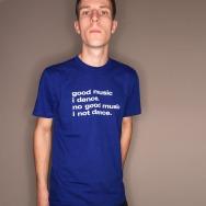 Good Music I Dance Shirt (Blue)