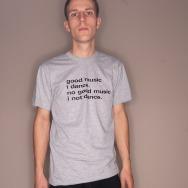 Good Music I Dance Shirt (Heather Grey)