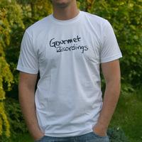 Gourmet Recordings Logoshirt (White)