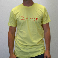 Karmarouge Logoshirt (Yellow)