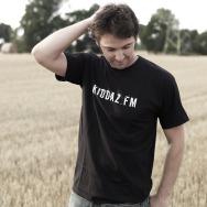 Kiddaz.FM Logo Shirt (Black)