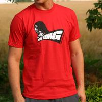 King Kong Label T-Shirt (red)