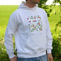 Kompakt Rec Hooded Sweater (White)