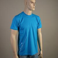 Liebe ist Cool Star Shirt (Bright Blue)