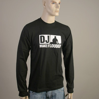 DJ Make It Louder Longsleeve (Black)