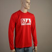 DJ Make It Louder Longsleeve (Red)