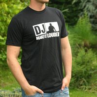 DJ - Make It Louder Logoshirt (Black)