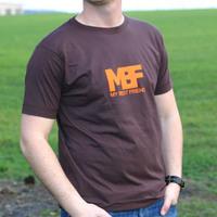 My Best Friend Logo Shirt (Brown)