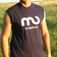Modelisme 2006 Shirt Sleeveless (navy)