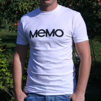 Memo Logoshirt (White)