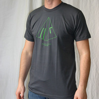 Mental Groove Records Logoshirt (Asphalt)
