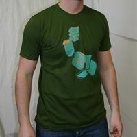 Microcosm Logo Shirt (Olive 2007edition)