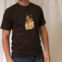 Microcosm Logo Shirt (chocolat)